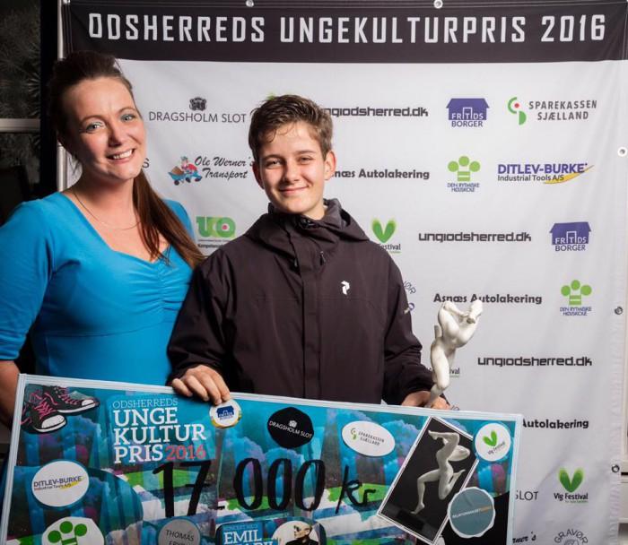 Ungekulturpris 2016